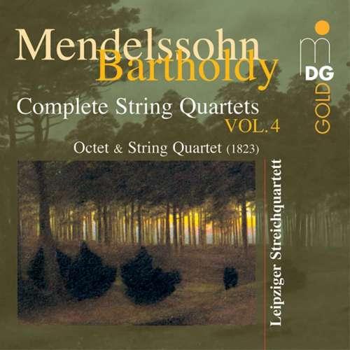 CD Mendelssohn Bartholdy Complete String Quartets Vol 4