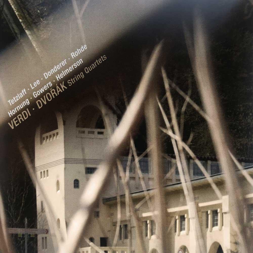 CD Verdi & Dvořák - String Quartets