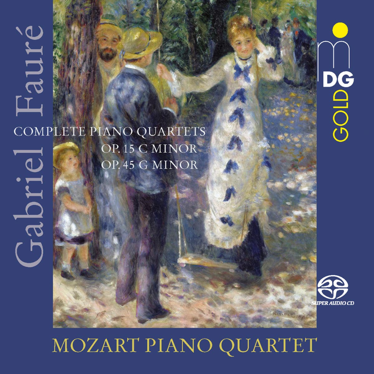 CD Mozart Piano Quartet: Gabriel Fauré