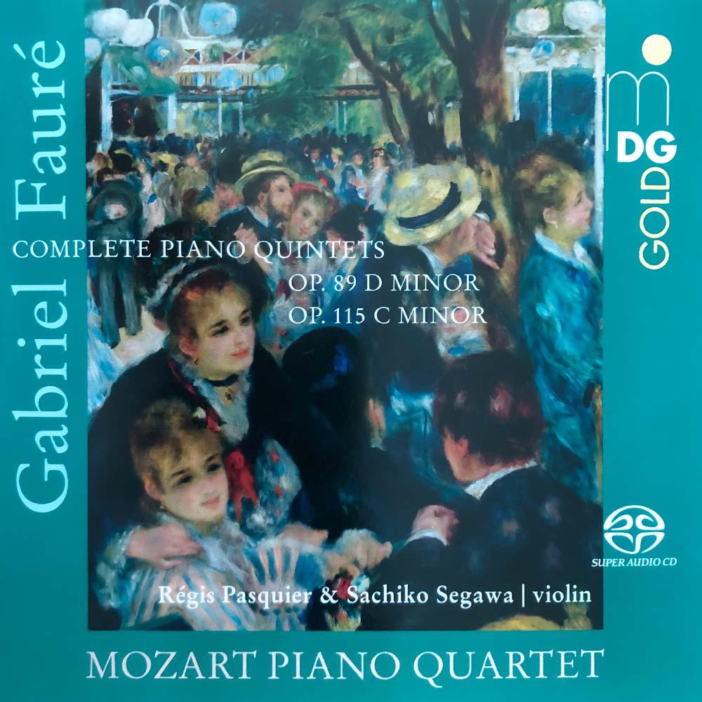 CD Gabriel Fauré - Piano Quintets